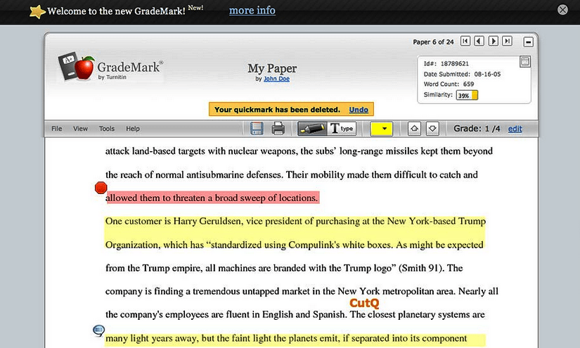 WriteCheck by Turnitin: Plagiarism Checker